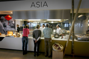 (C)Roel Dijkstra Fotografie / Foto Fred Libochant Rotterdam / restaurant The World / Wesley Ladage