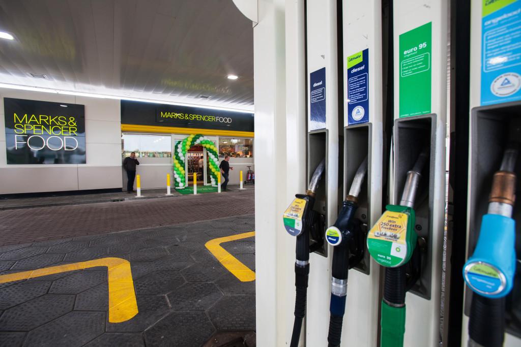 Eerder deed BP een test met Marks & Spencer in het BP station Bijleveld langs de A2 bij Harmelen