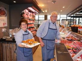 Slagerij deelt winkel met bakker en groentespecialist