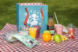Video: picknicken met smoothies, fruit en groente in De Efteling
