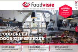 Foodvisie presenteert nieuw digitaal magazine