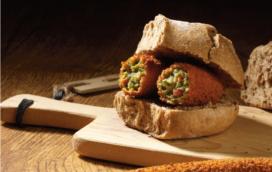 Snacks: vullingen met snert, stoofvlees of zuurkool