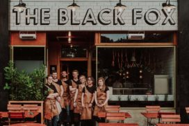 The Black Fox: Uit eten in de slagerij