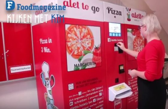 Pizza-automaat in Berlijn (vlog Foodsafari)